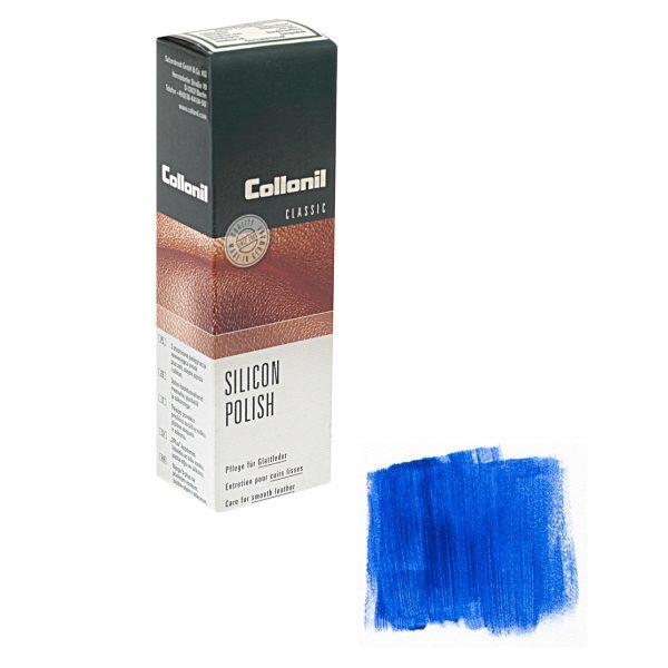 Крем Collonil Silicon Polish темно-синий