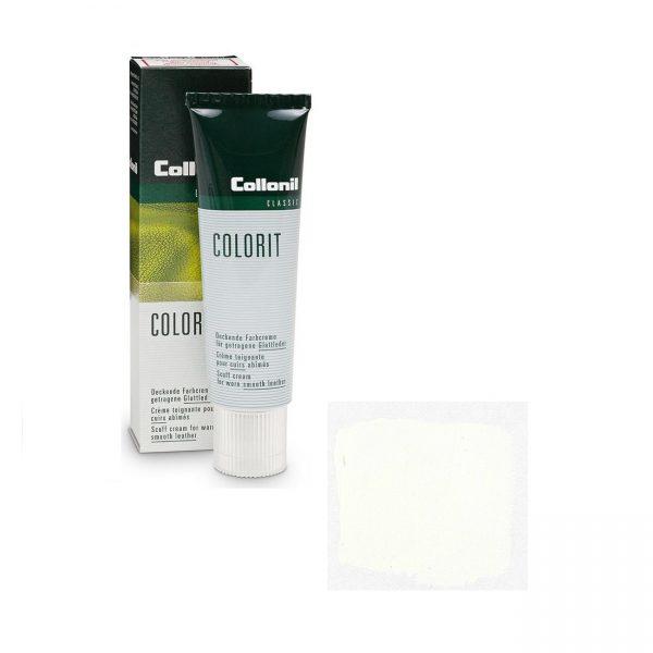 Крем восстановитель цвета Collonil Colorit белый