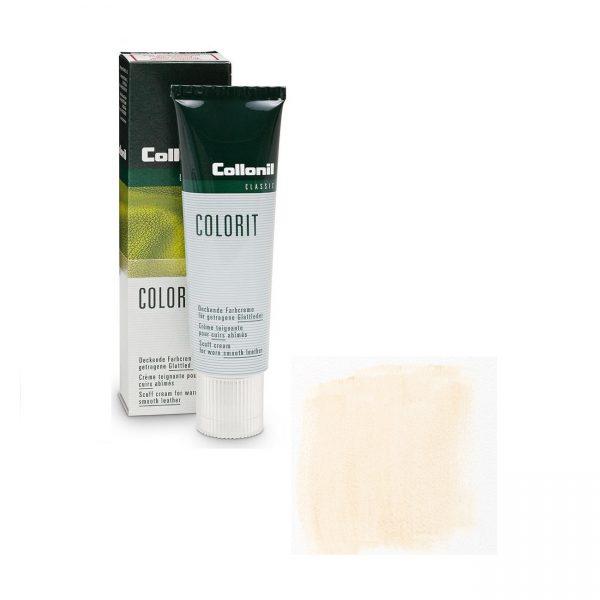 Крем восстановитель цвета Collonil Colorit /026 белая слоновая кость/