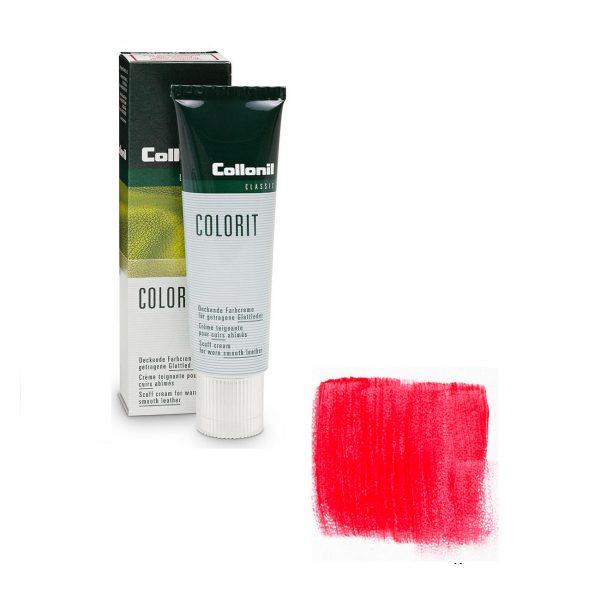 Крем восстановитель цвета Collonil Colorit красный