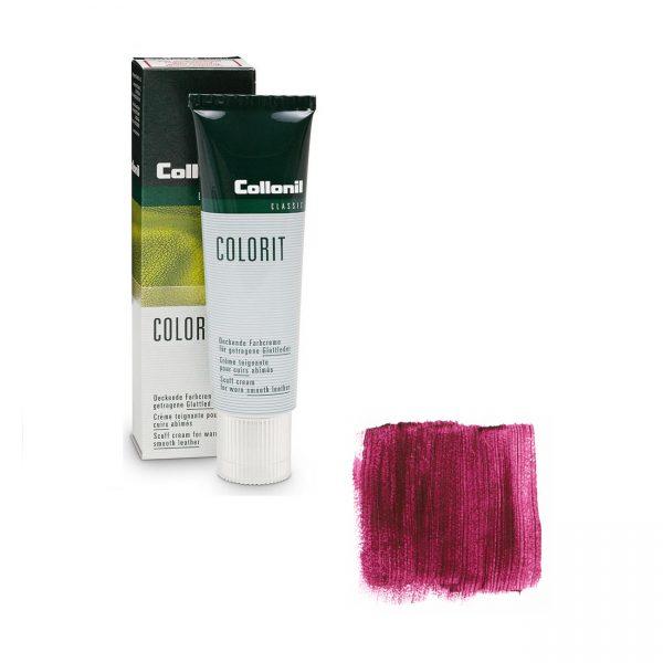 Крем восстановитель цвета Collonil Colorit бордовый