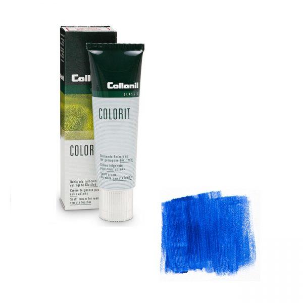 Крем восстановитель цвета Collonil Colorit темно-синий