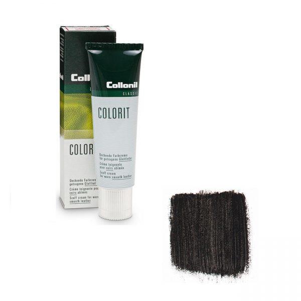 Крем восстановитель цвета Collonil Colorit черный