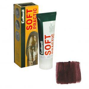 Питательный крем для обуви Collonil Soft Practic темно-коричневый