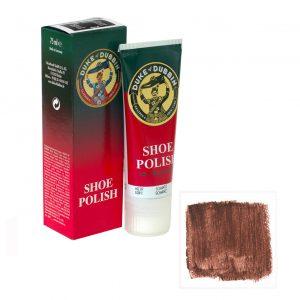 Обувной крем Duke of Dubbin Shoe Polish коричневый 75 ml
