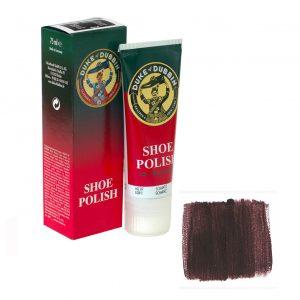 Обувной крем Duke of Dubbin Shoe Polish темно-коричневый 75 ml