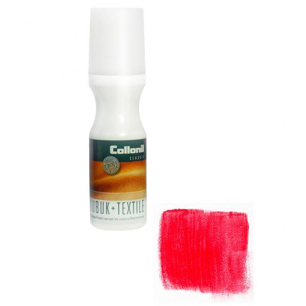 Краска для нубука и текстиля Collonil Nubuk Textile /418 красный/