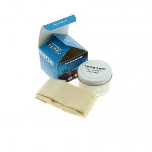 Деликатный гель очиститель для обуви Tarrago GEL CLEANER, 50мл.