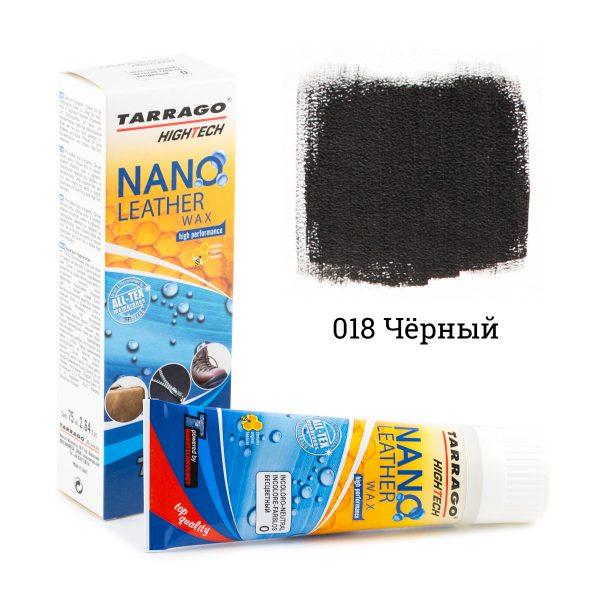 Нано крем для защиты от воды Tarrago NANO Leather WAX, 75мл. (черный)