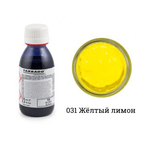 Грунтовка для покраски кожи Tarrago PRIMER, 125мл. (lemon)