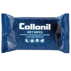 Влажные салфетки для чистки текстиля Collonil Wet Wipes, 15 шт.