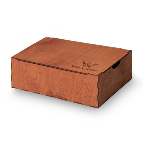 Коробка для обувной косметики клен