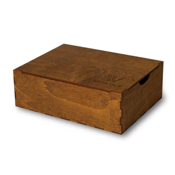 Коробка для обувной косметики палисандр