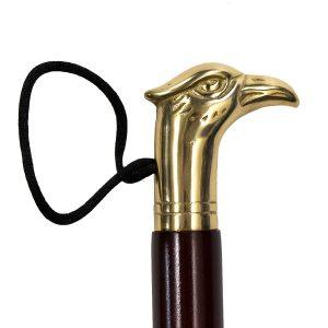 Рожок для обуви подарочный Saphir. ОРЕЛ, Латунь + Дерево, 60см.
