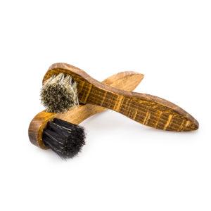 Мини-щетка для нанесения крема Rosshaar, конский ворс