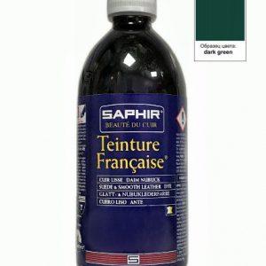 Проникающий краситель Saphir Teinture Francaise, 500мл. (темно-зеленый)
