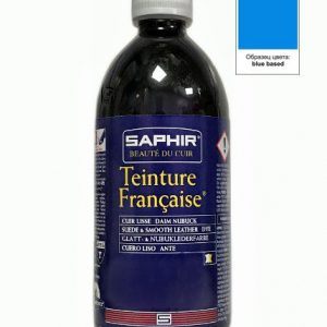 Проникающий краситель Saphir Teinture Francaise, 500мл. (base blue)