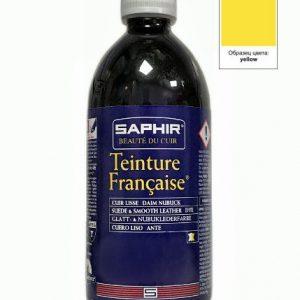 Проникающий краситель Saphir Teinture Francaise, 500мл. (base желтый)