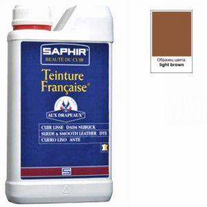 Проникающий краситель Saphir Teinture Francaise, 1000мл (светло-коричневый)