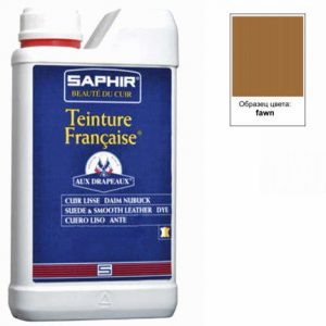 Проникающий краситель Saphir Teinture Francaise, 1000мл. (коричневый фавн)