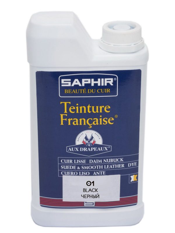 Проникающий краситель Saphir Teinture Francaise, 1000мл.