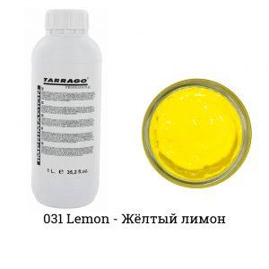 Грунтовка для покраски кожи Tarrago PRIMER, 1000мл. (lemon)