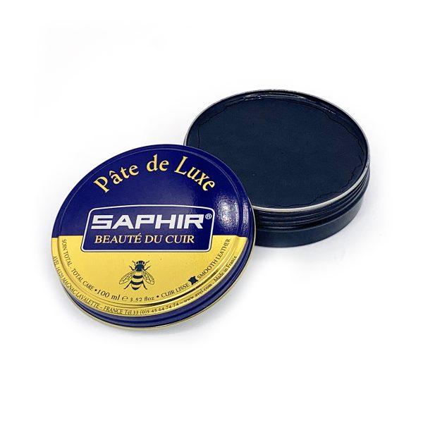 Гуталин воск для обуви Saphir BDC Pate de Luxe, 100мл. (темно-коричневый)