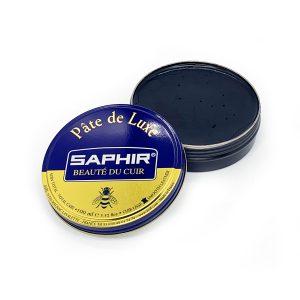 Гуталин воск для обуви Saphir BDC Pate de Luxe, 100мл. (черный)