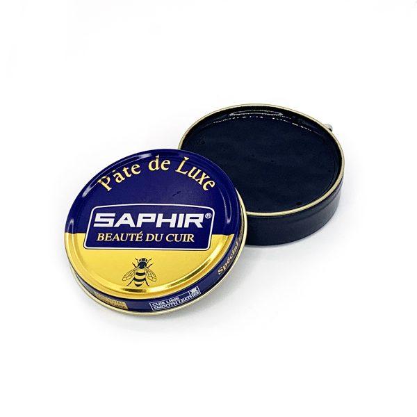 Гуталин воск для обуви Saphir BDC Pate de Luxe (темно-коричневый)