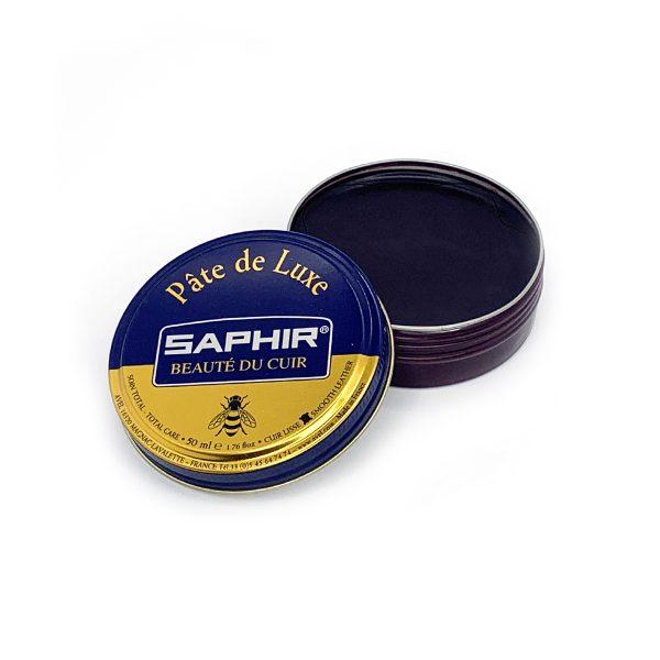 Гуталин воск для обуви Saphir BDC Pate de Luxe (Бордовый)
