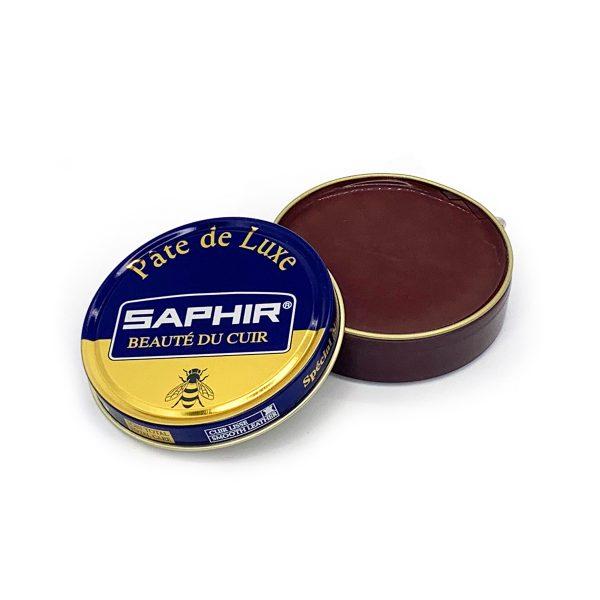 Гуталин воск для обуви Saphir BDC Pate de Luxe (средне-коричневый)