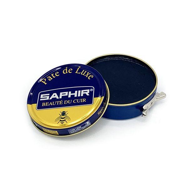 Гуталин воск для обуви Saphir BDC Pate de Luxe (темно-синий)