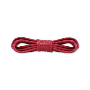 Круглые вощеные шнурки 90см- Бордовые