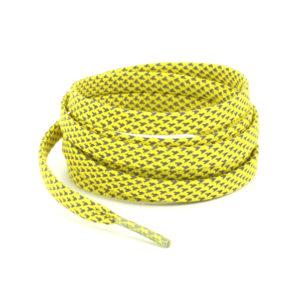 Светоотражающие шнурки плоские 120см – Желтые