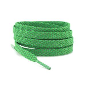Светоотражающие шнурки плоские 120см – Зеленые