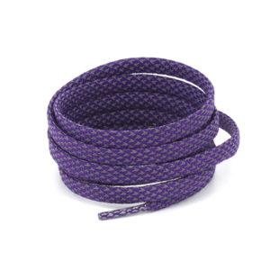 Светоотражающие шнурки плоские 120см – Фиолетовые