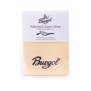 Полировочная салфетка для глассажа Burgol Polishing Cloth Super Gloss 60 x 15 cm, 3 шт.