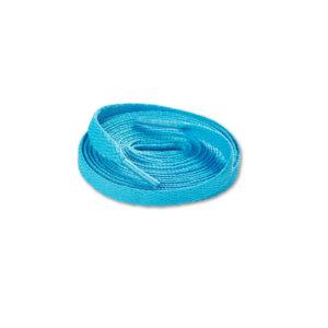 Шнурки плоские 120см – Голубые