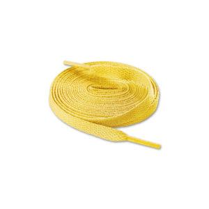 Шнурки плоские 120см – Желтые
