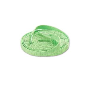 Шнурки плоские 120см – Светло зеленые