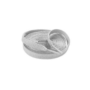 Шнурки плоские 120см – Светло серые