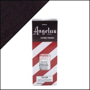 Черная краска для замши и нубука Angelus Suede Dye 3 oz – Black 001