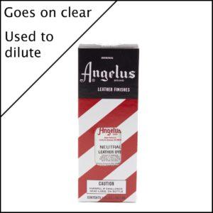 Бесцветная краска для кожаных кроссовок Angelus Leather Dye 3 oz – Neutral 004