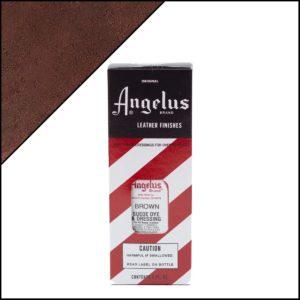 Коричневая краска для замши и нубука Angelus Suede Dye 3 oz – Brown 014