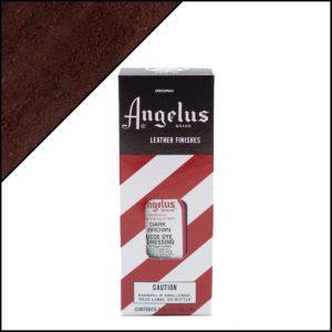 Темно-коричневая краска для замши и нубука Angelus Suede Dye 3 oz – Dark Brown 018
