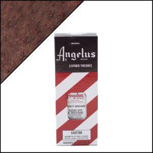 Светло-коричневая краска для замши и нубука Angelus Suede Dye 3 oz – Light Brown 021