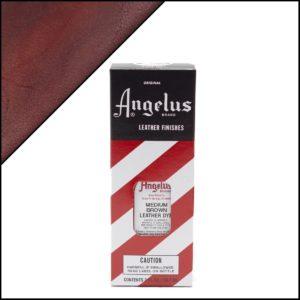 Коричневая краска для кожаных кроссовок Angelus Leather Dye 3 oz – Medium Brown 023