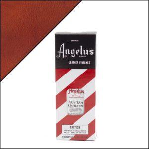 Коричневая краска для кожаных кроссовок Angelus Leather Dye 3 oz – Sun Tam 028