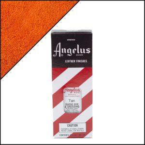 Коричневая краска для замши и нубука Angelus Suede Dye 3 oz – Tan 029