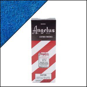 Светло-голубая краска для замши и нубука Angelus Suede Dye 3 oz – Light Blue 041